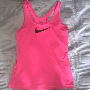 Nike Tops - Pink nike tank top